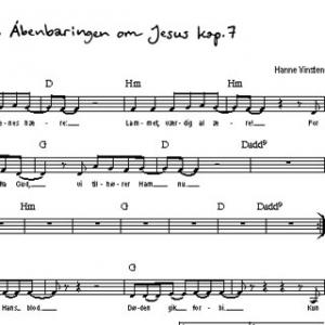 Noder: Åbenbaringen om Jesus kap. 7 (pdf download)